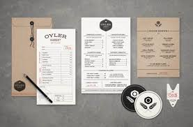 20 restaurant menu designs that are inspiring as well as effective