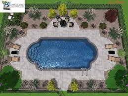 Swimming Pool Ideas Roman Shaped Inground Pools Google Search Outdoor Garden