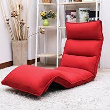 amazon com merax upholstered lazy sofa floor sofa chair folding