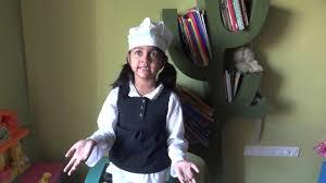 fancy dress nidhi as chef youtube