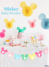 or baby shower mickey baby shower disney family