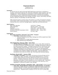 Management Consulting Resume Format Business Objects Resume Sample Obiee Architect Resume