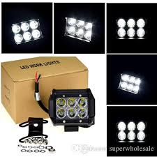 led security light bar 4 18w square hight intensity cree led light bar led work light