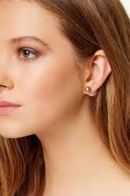 sided stud earrings simulated pearl sided stud earrings nordstrom rack