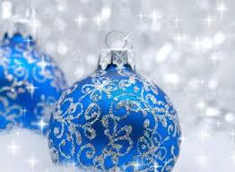 9290891 blue christmas balls over sparkling background shallow
