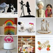 unique wedding cake topper 20 amazing and unique wedding cake toppers rock n roll