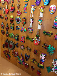 mexican tree ornaments lights decoration