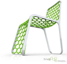 Honeycomb Furniture The Hive Chair By Marco Torres Mimics - Hive furniture