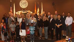 city of huntington beach ca news mayor u0027s award october