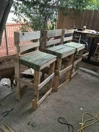 Pallet Garden Furniture Diy Pallet Pallets Project Furniture Diy Old Fire Hose Bar Stool Chair