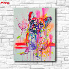 Wall Decor Home Goods by Online Get Cheap Abstract Dog Art Aliexpress Com Alibaba Group