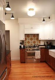Tiles For Kitchen Backsplashes by Kitchen Backsplash Cement Tile Shop Blog