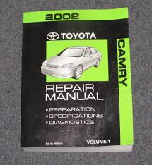 2002 toyota camry service manual 28 95 camry repair manual toyota camry repair manual 1990