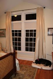 curtain transom image how to install window treatments transom