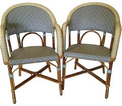 authentic french maison gatti café chairs pair chairish