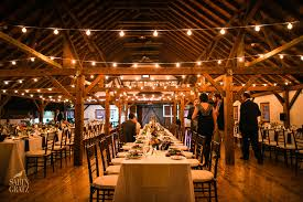 winter wedding venues a vermont winter wedding dinner in the brown barn