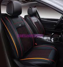 nissan almera leather seat front rear special leather car seat covers for seat leon ibiza