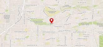 New Mexico Zip Code Map by Spain Gardens Apartments Albuquerque Nm 87111