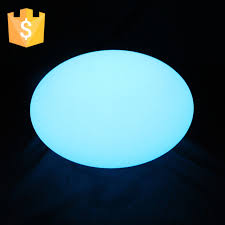 d35 h20cm ip65 color changing led stone ball floating swimming