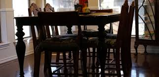 Black Lacquer Dining Room Chairs - Black lacquer dining room set