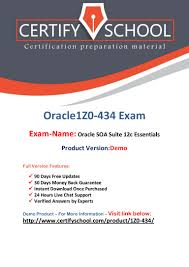 oracle 1z0 434 exam questions and answers pdf