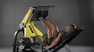 pure strength plate loaded leg press machine