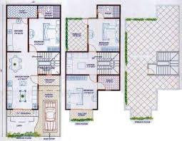Row Houses Floor Plans 3 4 Bhk Row Houses And Bungalows For Sale Near A B Byepass Road