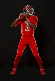 buccaneers unveil new all red uniforms for nike color rush and