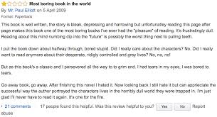 21 blunt and bizarre one star amazon reviews of classic british books