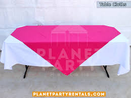 table cloth rentals party rental packages
