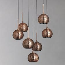 chandelier lights online buy john lewis simba dangles cluster ceiling light 7 light