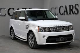 land rover autobiography white land rover range rover sport v8 autobiography sport