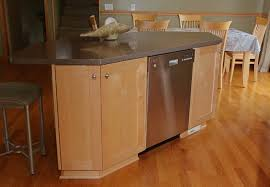 kitchen islands with dishwasher dishwasher in island craftsman kitchen other by henige s