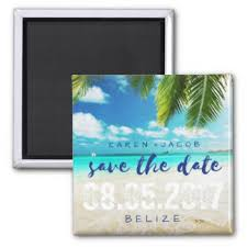 Save The Date Destination Wedding Save The Date Refrigerator Magnets Zazzle