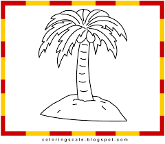 printable palm trees free coloring pages on art coloring pages