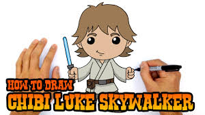 how to draw luke skywalker star wars youtube