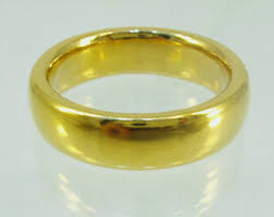 mens gold wedding bands 100 gold mens wedding band 24 karat solid gold ring100
