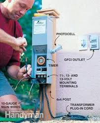 Low Voltage Landscape Lighting Transformers Outdoor Low Voltage Lighting Family Handyman