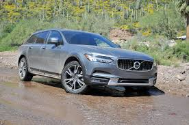 blue volvo station wagon 2017 volvo v90 cross country first drive review the wagon