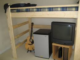 Build Your Own Loft Bed With Desk by How To Build Your Own Loft Bed Life Lessons College Being