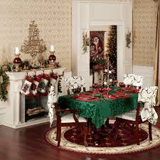 lenox holly damask holiday table linens