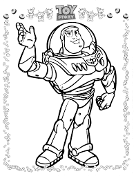 simple rcaxlh buzz lightyear coloring pages hd