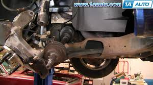 how to install replace front drive axle cv joint ford taurus 96 07