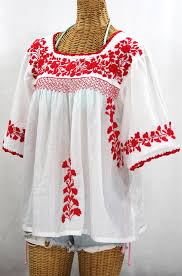 peasant blouse la marina embroidered peasant blouse white embroidery