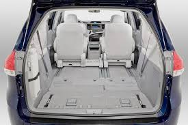 Toyota Highlander Interior Dimensions 2013 Toyota Sienna Cargo Area Best Cars News