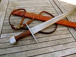 Woodworking Forum For Sale by For Sale Hanwei Norman Tinker Sword Custom Scabbard Sharp Sbg