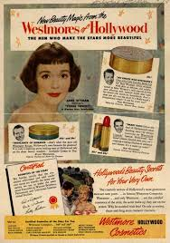 vintage beauty ads with westmore cosmetic s various