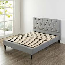 Platform Beds Queen - blackstone grand upholstered diamond tufted platform bed queen