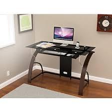 z line designs claremont glass desk espresso staples