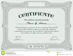 certificate template royalty free stock photography image 24984777